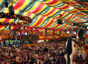 Hippodrom tent at Oktoberfest