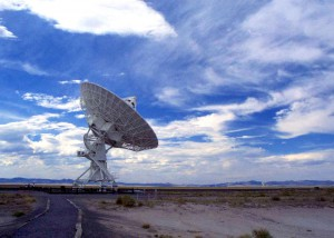 Very Large Array VLA Dish
